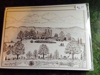 Laurel Hill 1842 by Pat G. Woltz - Box of 6 cards with envelopes