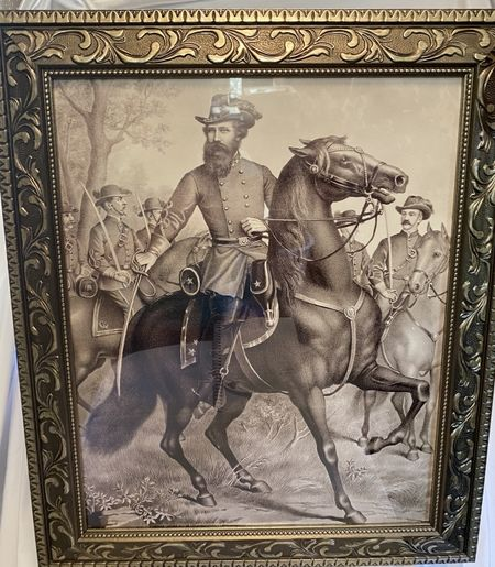 JEB Stuart on a horse